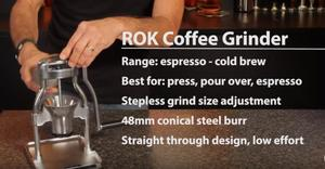 Grinding Coffee At home ROK