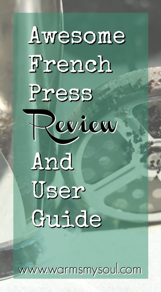 Awesome french press review and user guide