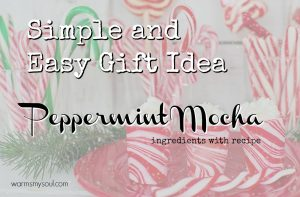 coffee recipe peppermint mocha