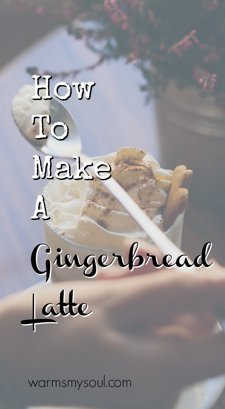 How To Make A Gingerbread Latte Better Than A Starbucks Barista! This Is An Amazing Coffee Recipe!