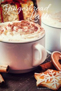 How To Make An Easy Starbucks-Like Gingerbread Latte Without All The Work!