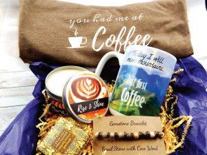 Coffee lovers gift basket ideas