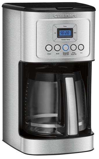 Cuisinart Coffee Maker Review to help you chose which coffee maker is best for your coffee needs.  Make a delicious cup of coffee with these four coffee makers that all have different and unique features.