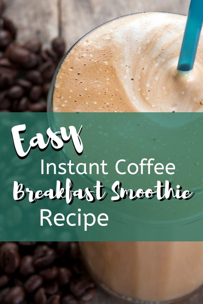 Try this easy instant coffee breakfast smoothie for a quick meal in the morning. This is one of the most delicious breakfast smoothie recipes I have tried. Today is the day to try this instant coffee recipe!!!
