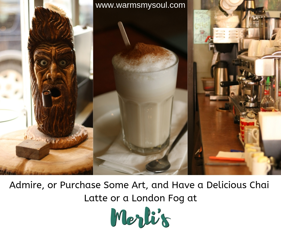 Merli's is one of the best restaurants in Kingsville, Ontario and makes the best lattes around. If you want a coffee and delicious brunch, lunch, or dinner in Kingsville, Ontario, go to Merli's for the atmosphere, art, and locally sourced everything.