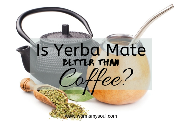 Is Yerba Mate Tea Better Than Coffee? The Health benefits of Yerba Mate Tea are numerous. It can fight disease, has lower caffeine than coffee, tons of vitamins.