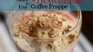 Easy Strawberry Frappe So Good Your Taste Buds Will Explode!