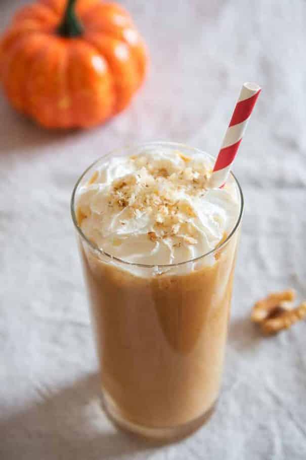 4 Ingredient Pumpkin Pie Milkshake