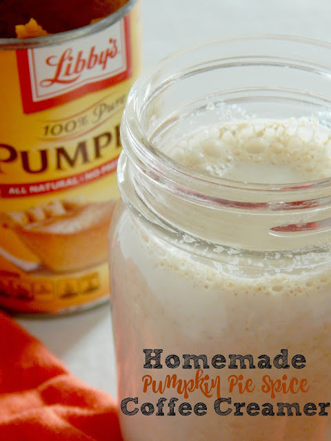 Homemade Pumpkin Pie Spice Coffee Creamer