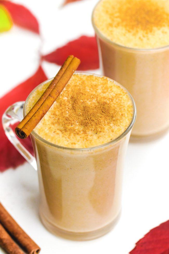 Pumpkin Chai Latte (with vegan and paleo options)