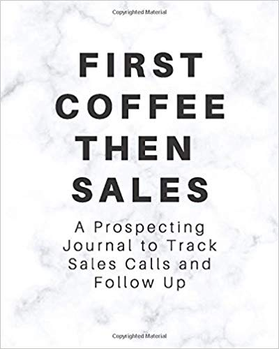 This coffee sales journal makes a great gift idea for coffee lovers.