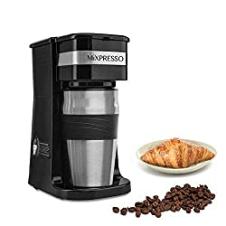 Travel mug combo coffee maker stainless steel - best coffee makers under 50