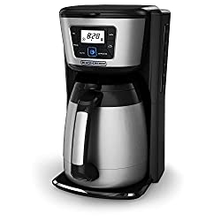 Coffee maker with thermal carafe - best coffee makers under 50