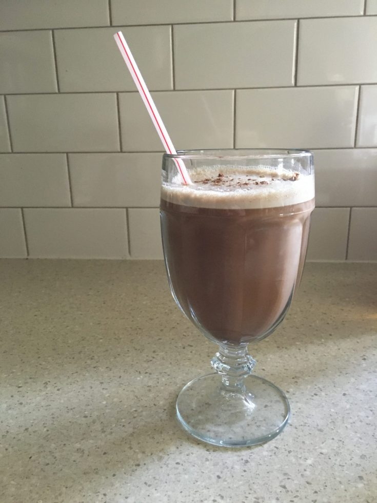 Simple Keto Peanut Butter Coffee Protein Smoothie (With Optional Chocolate Upgrade)
