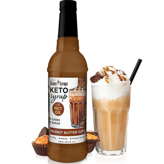 Keto Peanut Butter Coffee Skinny Syrup