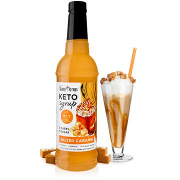 Keto Salted Caramel Syrup with MCT oil