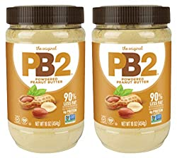 PB2 Peanut butter alternative for coffee.  Made with peanuts