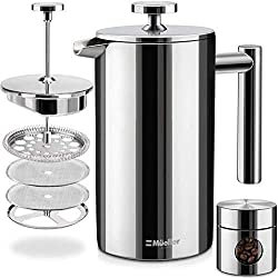 Stainless steel french press - best coffee makers under 50